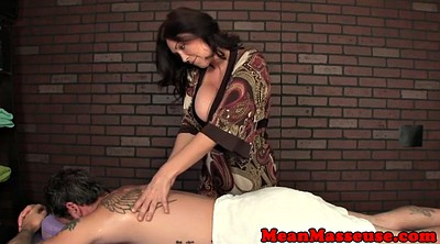 Mature massage, Femdom humiliation, Mature handjob, Big matures