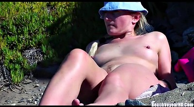 Hot milf, Beach, Beach nudist