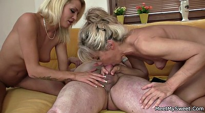 Family, Naked, Family threesome