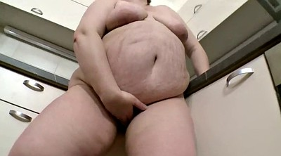 Kitchen, Granny solo, Chubby solo, Polish, Chubby hairy, Hairy kitchen