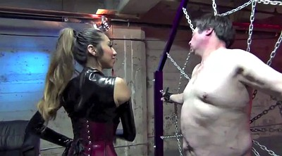 Latex bdsm, Slapping, Slapped, Goddess