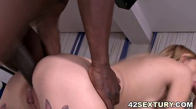 Monster, Monster anal, Interracial dp