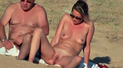 Beach, Amateur handjobs