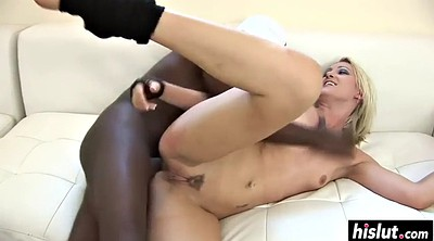 Angel long, Angel, Interracial anal, Busty anal