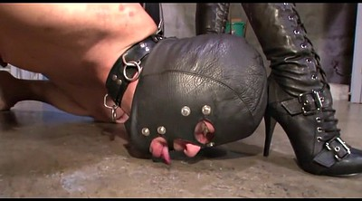 Punished, Feet slave, Boot