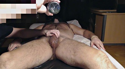 Milk, Milking, Hung, Hd hairy, Cock milking