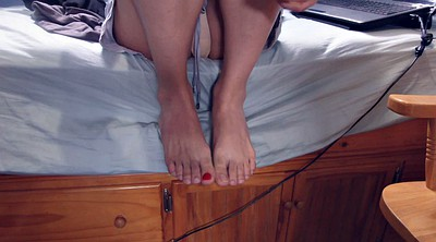 Crossdress, Man feet, Crossdressing