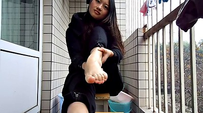 Chinese foot, Chinese teens, Asian teens, Asian fetish