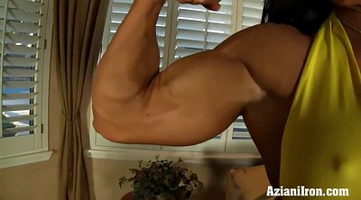 Saggy, Rimming, Bodybuilder, Big ass solo