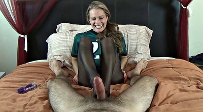 Footjob, Nylon feet, Nylon footjob, Nylon foot, Nylons feet