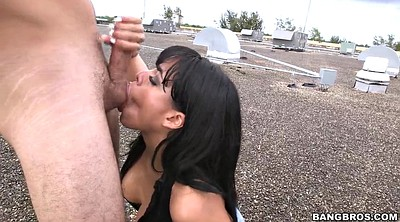 Deep throat, Luna star, Big tit