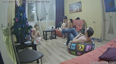 Hidden, Hidden cam, Russian voyeur, Russian party, Eve