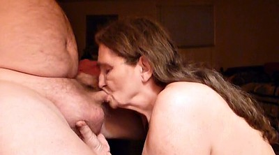 Husband, Granny swallow, Cum swallowing, My husband, Amateur mature