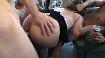 First anal, Rough gangbang, Facials, Anal first