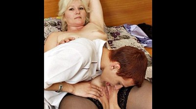 Moms, Russian mature, Mom with young