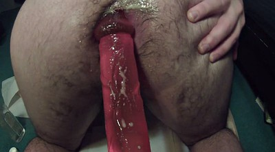 Big ass dildo, Poppers, Fate, Gay gape
