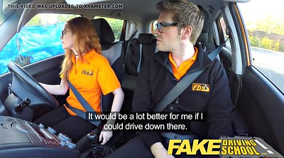 School, Hairy solo, Fake driving school, Fake driving, Creampie surprise, Hairy teen solo