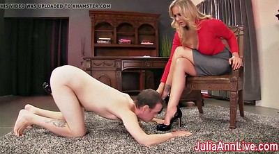 Julia ann, Foot lick, Anne