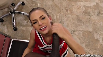 Ebony teen, Cheerleader