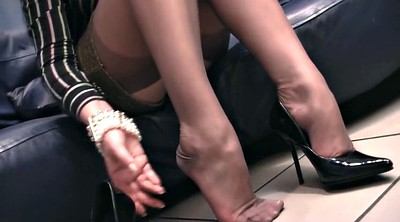 Feet, Nylon feet, Nylon foot, Footing, Nylons feet, Foot nylon