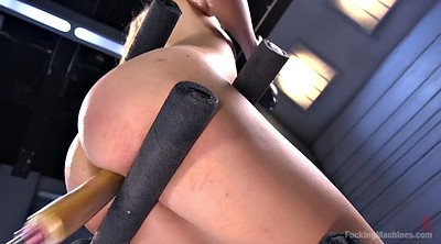Machine, Solo orgasm, Orgasm machine, Goldie