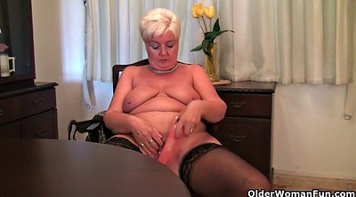 Mom, Granny solo, Bbw mom, Short haired