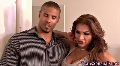 Trans, Shemale threesome