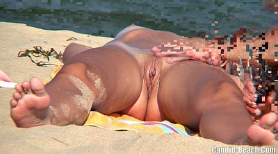 Beach, Nudist beach, Nudist, Couple