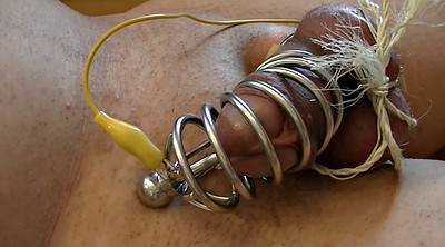 Insertion, Electro, Shorts, Metal, Very big cock, Auto