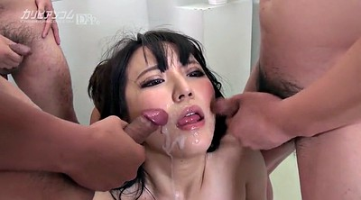Marina, Japanese cum, Japanese face, Asian facials