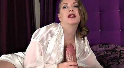 Moms, Silk, Satin, Mom handjob, Love mom