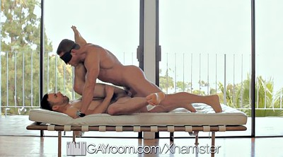Gay muscle, Saint, Blindfold gay, Blindfolded