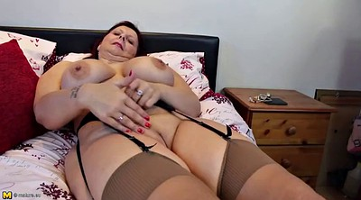 Real mother, Real wife, Hot milf, Granny lingerie