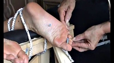 Mature feet, Mature foot, Extreme, Needle, Bdsm extreme, Bdsm mature