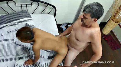 Dad, Gay boy, Asian old, Asian bondage, Gay feet, Asian daddy