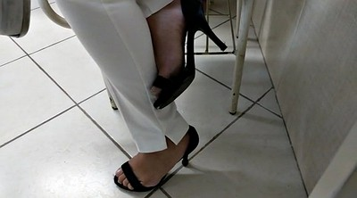 Hidden, High heeled, Feet soles, Brazilian feet