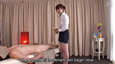 Japanese massage, Yui, Subtitle, Massage japanese, Bottomless