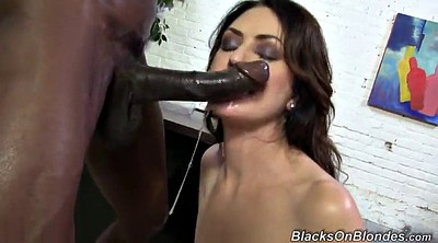 Interracial anal, Monster big