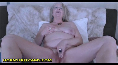Mature blonde, Granny hairy