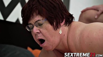 Grandma, Cum in mouth