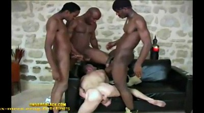 Black and white, Black on white, Bbc white, Bbc gangbang