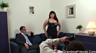 Teens, Granny boy, Granny and boy, Mature and young boy, Mature and boy, Huge tit