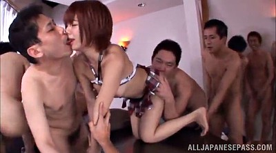 Japanese bukkake, Japanese cum, Asian gangbang