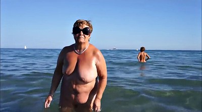 Holiday, Public beach, French granny, Bbw beach, Granny public, Granny beach