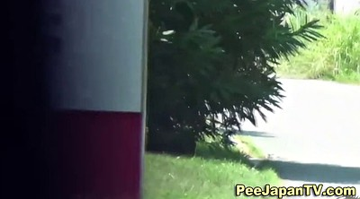 Japanese voyeur, Japanese pee, Japanese public, Japanese outdoor, Asian voyeur, Parking