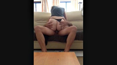 Ride dildo, Milf ass, Dildo suck
