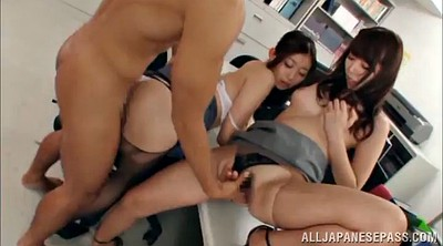 Asian gangbang, Office gangbang, Asian office