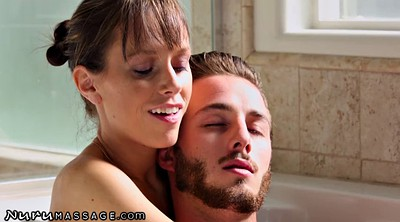 Massage, Oil massage, Stepmom and son, Massages