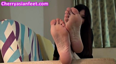 Asian feet, Asian foot, Asian model