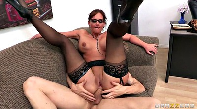 Glasses, Phoenix marie, Double penetration, Marie